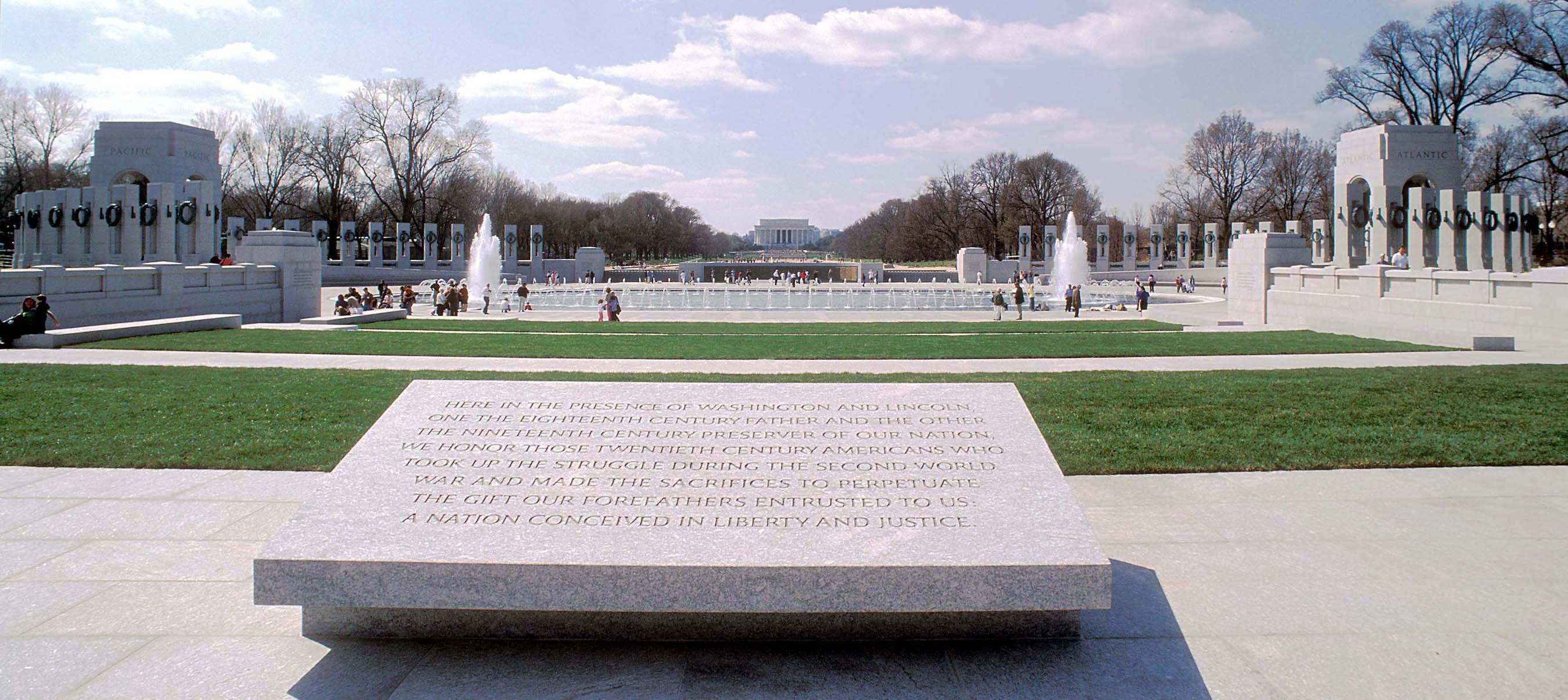 Words Inscribed On The World War Ii Memorial